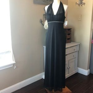Dresses & Skirts - New Betsy & Adam halter cocktail party dress sz 12